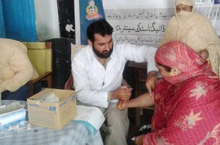 Free Hepatitis and blood sugar test camps