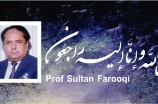 Prof Sultan Farooqi