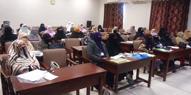 women workshop islamabad