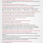 FAQs pediatrics