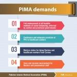 PIMA demands