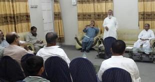 Sindh visit, 28 Oct